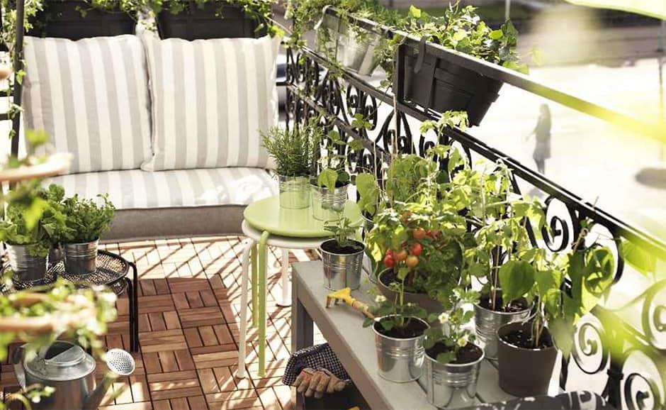 Elegante, funktionale und komfortable Terrassendekoration - Blog SKLUM