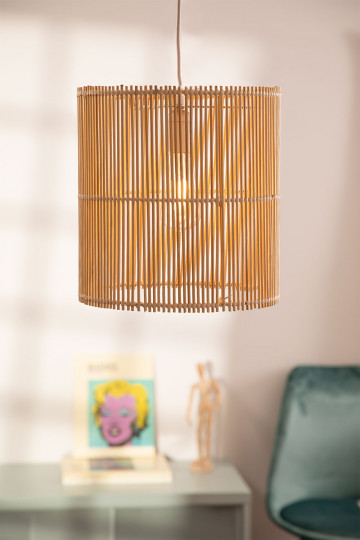 Lámpara de Techo en Ratán (Ø30 cm) Kub