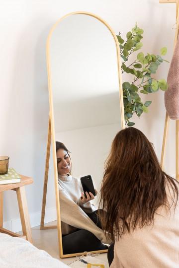 Espejo de Pie en Madera de Pino (137x45,5 cm) Naty