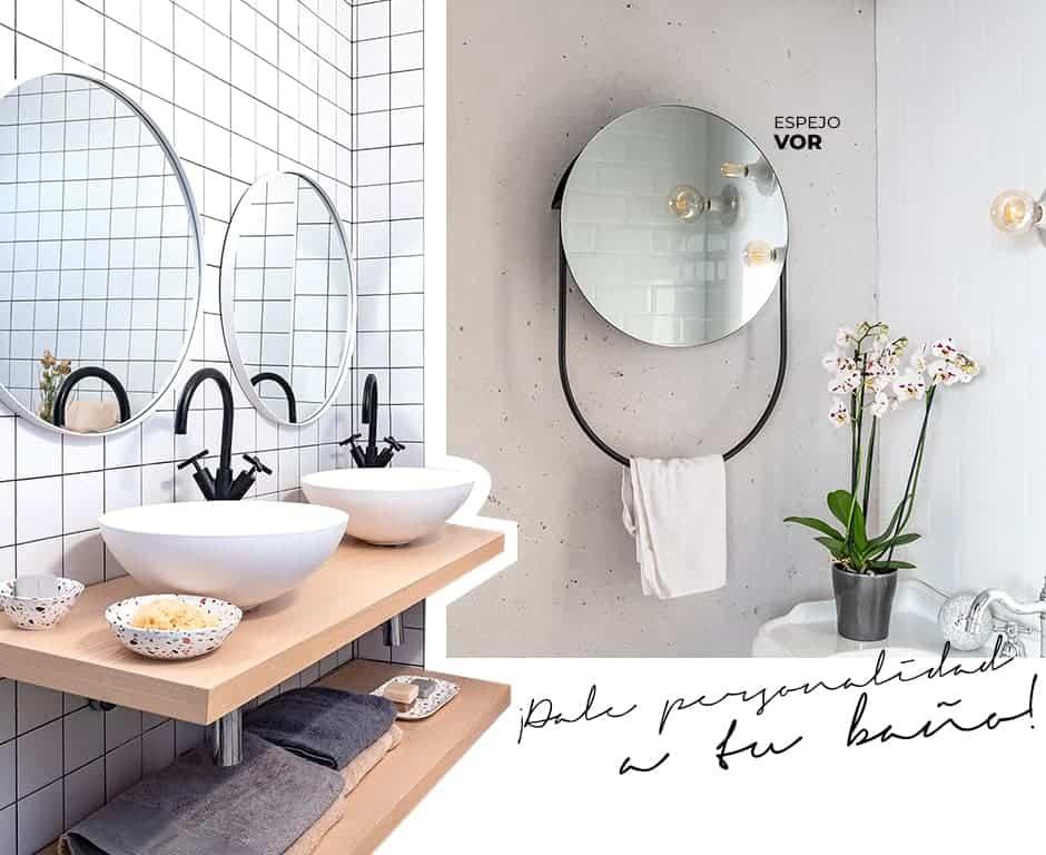 espejos decorativos para el baño