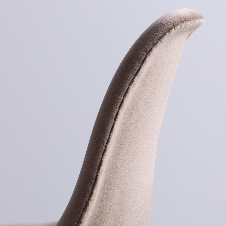 SKLUM Pack 2 Chaises en Velours Brich Scand | eBay