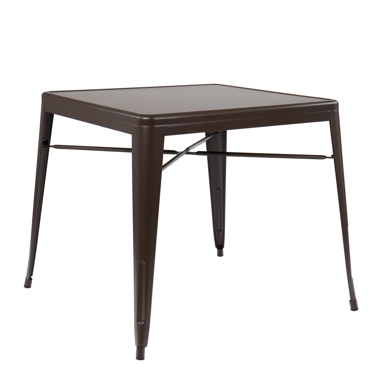 Matte Lix Table 80x80 Sklum