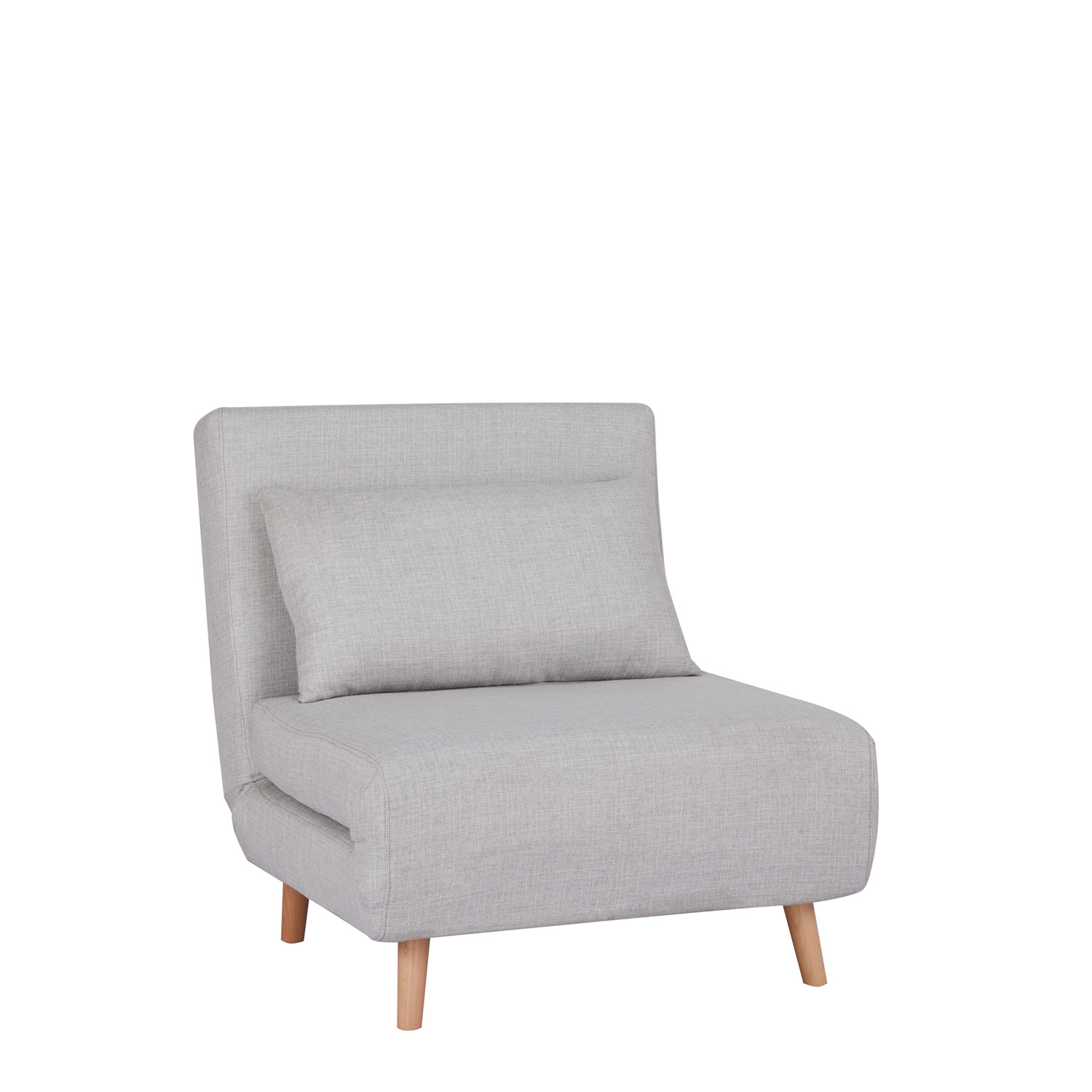 - Elen Single Sofa Bed In Fabric - SKLUM