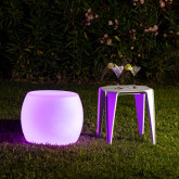 Rechargeable RGBW LED Chair