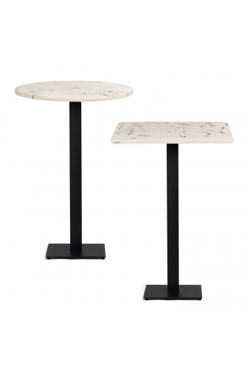 Chick Marble Finish Cement Bar High Table