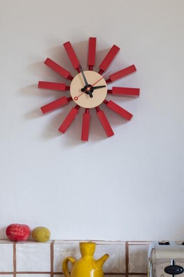 Lihdi Matte Clock