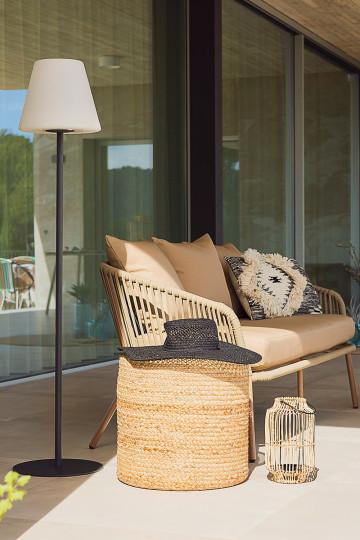 Llahra Solar Outdoor Floor Lamp