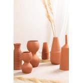 Jarrón de cerámica Tole