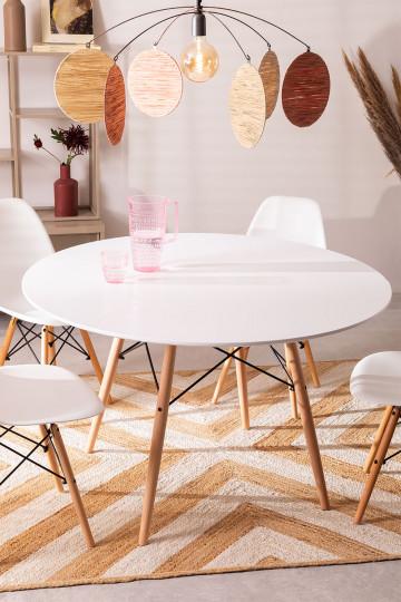 Ø120 MDF Brich Scand Table