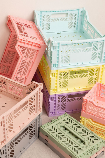Doli Folding and Stackable Plastic Box