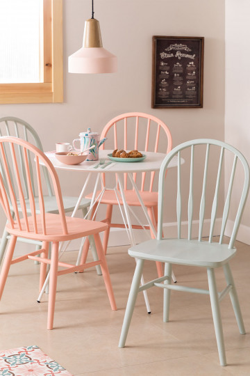 Lorri Colors Wood Dining Chair