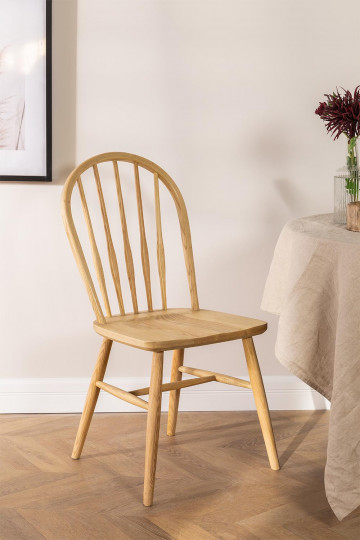Dining Chair in Natural Lorri Wood