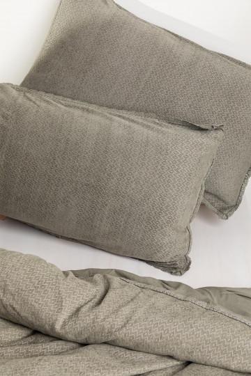 Rectangular Cotton Cushion Cover (50x75 cm) Alaska