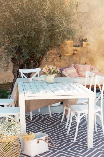 Outdoor Extending Table in Aluminium (200 - 280x100 cm) Starmi
