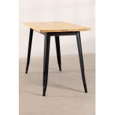 LIX Vintage houten tafel (120x60), miniatuur afbeelding 3