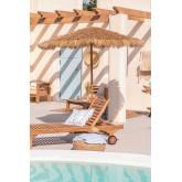 Stalen parasol (Ø200 cm) Rhos, miniatuur afbeelding 1