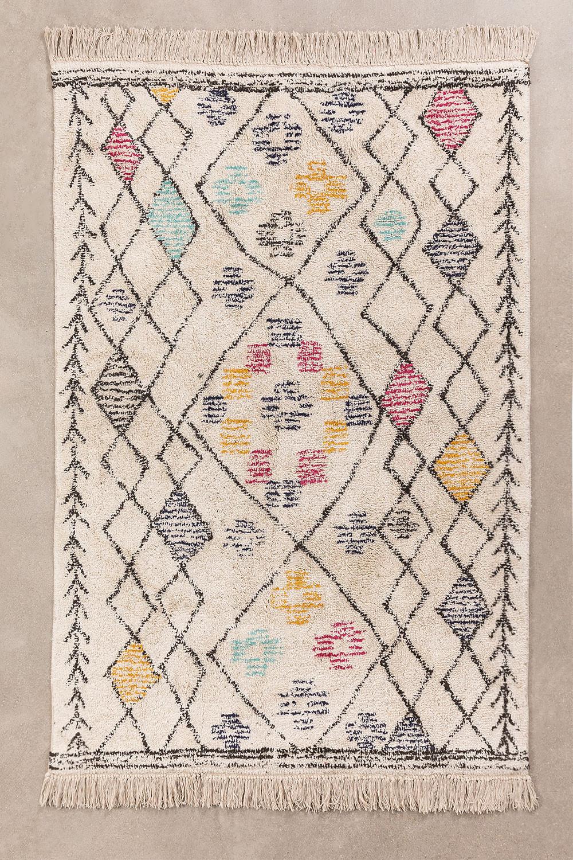 Katoenen vloerkleed (180x120 cm) Jalila, galerij beeld 1