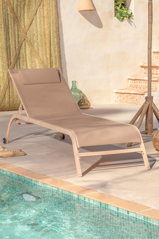 Ligstoel met kussentjes, galerij beeld 1