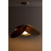 Plafondlamp in Kokosblad (Ø53 cm) Kilda, miniatuur afbeelding 3