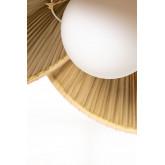 Plafondlamp in Kokosblad (Ø53 cm) Kilda, miniatuur afbeelding 4