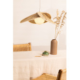 Plafondlamp in Kokosblad (Ø53 cm) Kilda, miniatuur afbeelding 1
