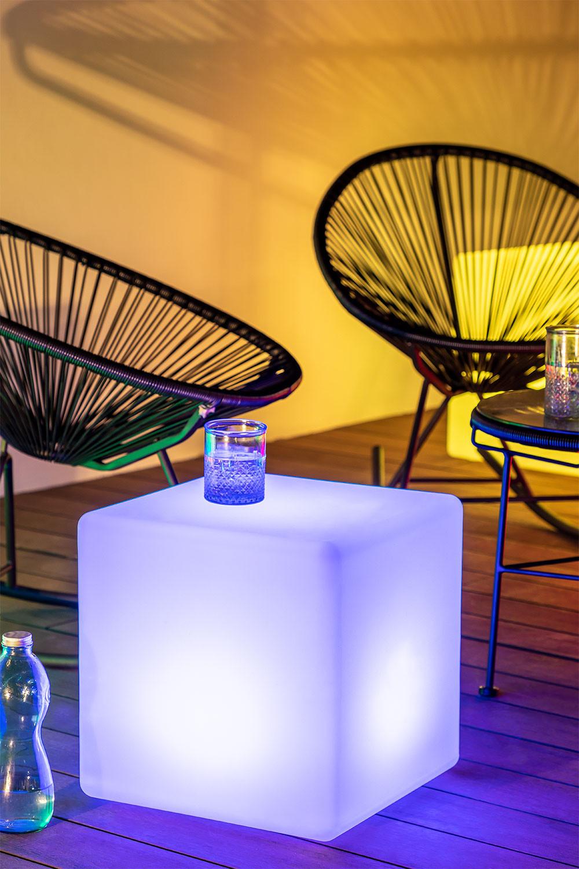 Cubo Led-vloerlamp voor buiten, galerij beeld 1