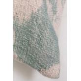 Vierkant katoenen kussen (45x45 cm) Tanbures, miniatuur afbeelding 4