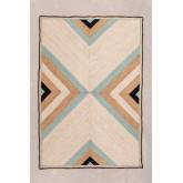 Vloerkleed van naturel jute (245x160 cm) Saina, miniatuur afbeelding 1