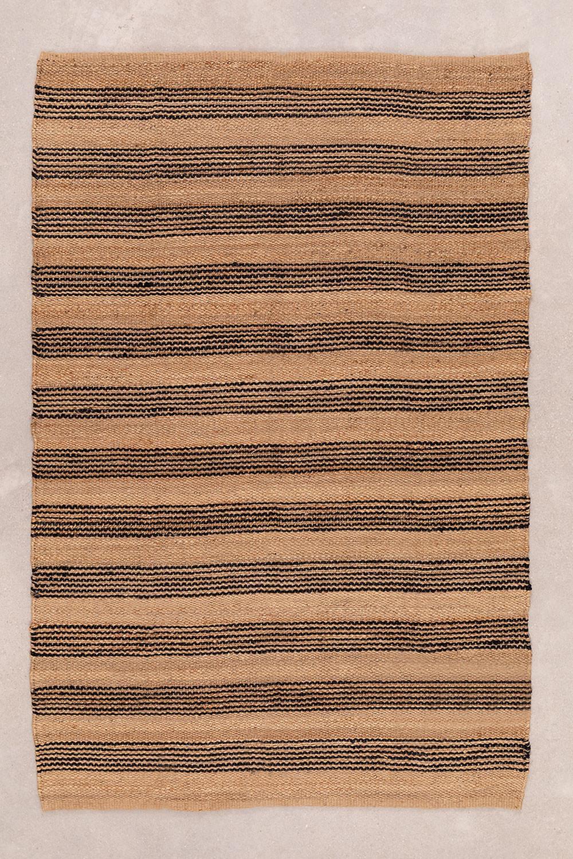 Vloerkleed van natuurlijk jute (250x160 cm) Seil, galerij beeld 1