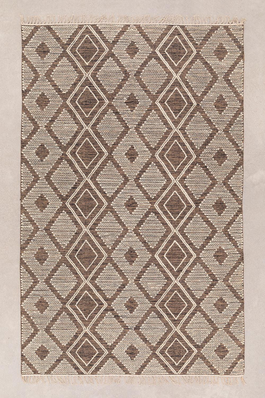 Tapijt van katoen en wol (250x160 cm) Hiwa, galerij beeld 1