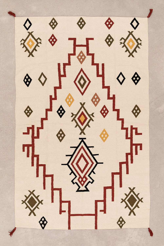 Katoenen vloerkleed (245x160 cm) Rilel, galerij beeld 1