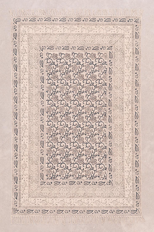 Katoenen vloerkleed (185x120 cm) Banot, galerij beeld 1