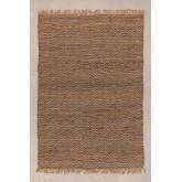 Vloerkleed van naturel jute (235x160 cm) Wuve, miniatuur afbeelding 1