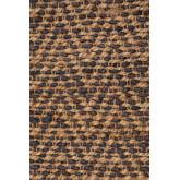 Vloerkleed van naturel jute (235x160 cm) Wuve, miniatuur afbeelding 4