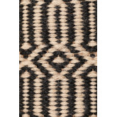 Vloerkleed van naturel jute (245x160 cm) Kinssa, miniatuur afbeelding 5