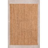 Gevlochten vloerkleed in natuurlijke jute (240x160 cm) Elaine, miniatuur afbeelding 2