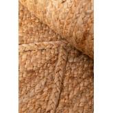Gevlochten vloerkleed in natuurlijke jute (240x160 cm) Elaine, miniatuur afbeelding 4