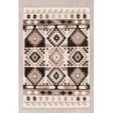 Tapijt van wol en katoen (250x165 cm) Logot, miniatuur afbeelding 1