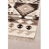 Tapijt van wol en katoen (250x165 cm) Logot, miniatuur afbeelding 3