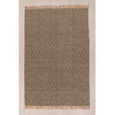 Vloerkleed van natuurlijk jute (245x165 cm) Kiva, miniatuur afbeelding 1