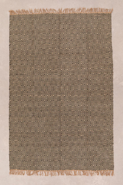 Vloerkleed van natuurlijk jute (245x165 cm) Kiva, galerij beeld 1