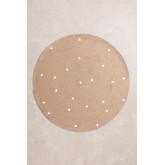 Rond vloerkleed van natuurlijk jute (Ø150 cm) Naroh, miniatuur afbeelding 1