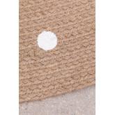Rond vloerkleed van natuurlijk jute (Ø150 cm) Naroh, miniatuur afbeelding 5