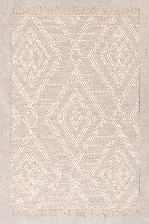 Katoenen vloerkleed (180x120 cm) Llides, galerij beeld 1