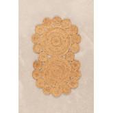 Deurmat van natuurlijk jute (96x57 cm) Otilie, miniatuur afbeelding 1