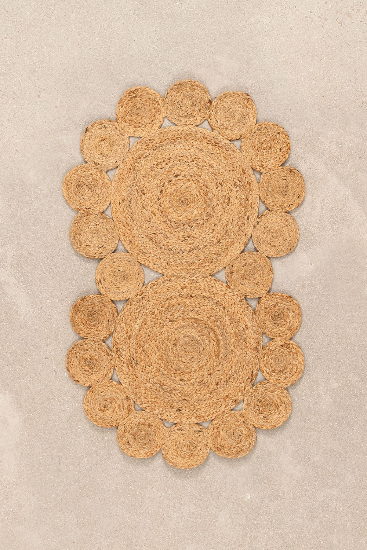 Deurmat van natuurlijk jute (96x57 cm) Otilie, galerij beeld 1