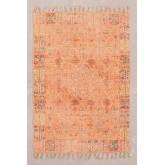 Vloerkleed van katoen Chenille (185x125 cm) Feli, miniatuur afbeelding 1