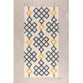 Katoenen vloerkleed (160x70 cm) Mandi, miniatuur afbeelding 1