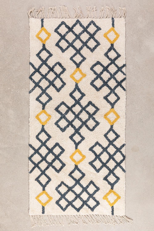 Katoenen vloerkleed (160x70 cm) Mandi, galerij beeld 1