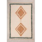 Katoenen vloerkleed (185x120 cm) Derum, miniatuur afbeelding 1